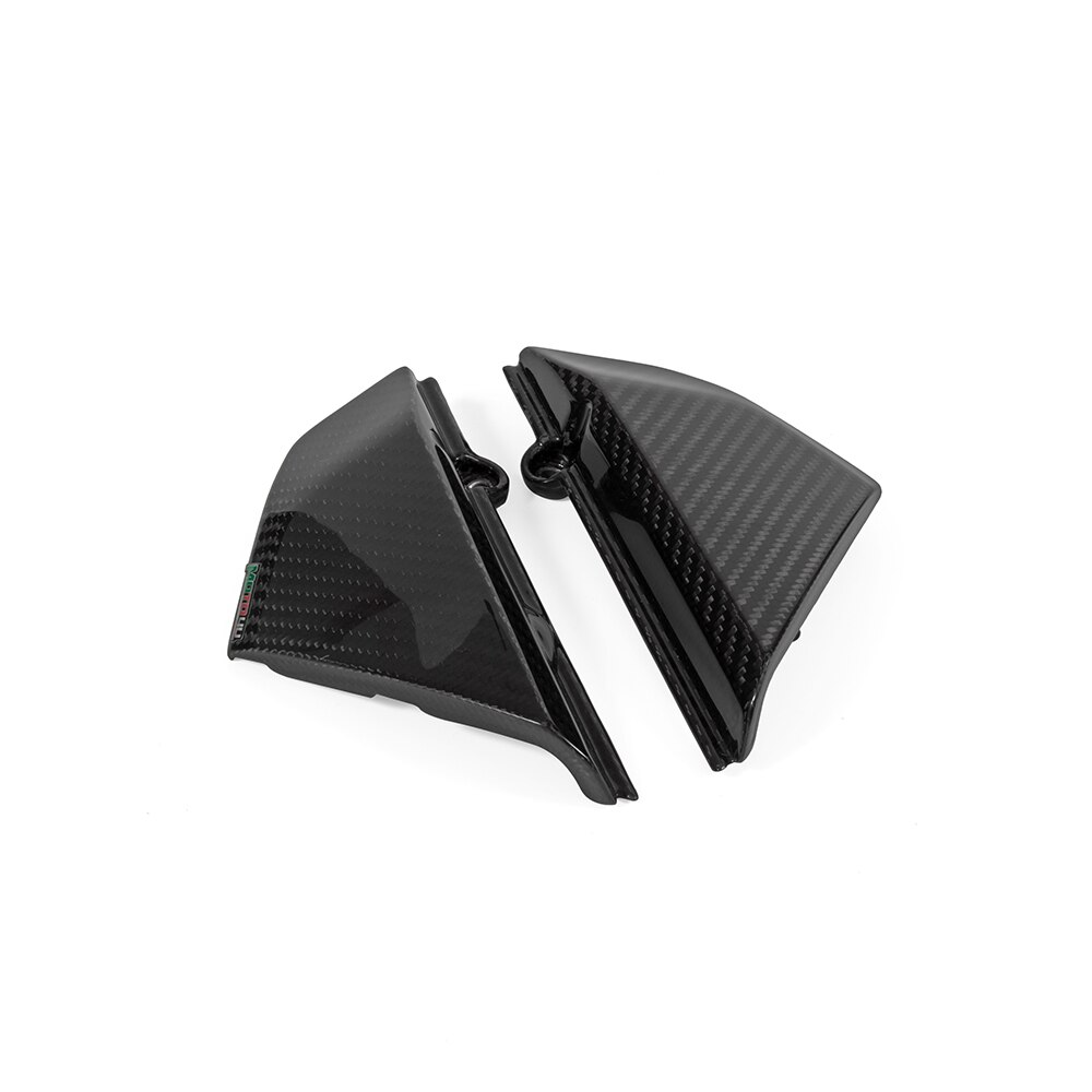 100-Carbon-Fiber-Motorcycle-Side-panels-Small-Side-Covers-Gloss-Twill-Weave-Cafe-Racer-For-Ducati-4