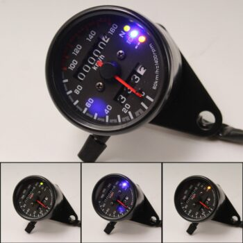 12V-Motorcycle-Odometer-Speedometer-Tachometer-Speedo-Meter-LED-For-Honda-Cafe-Racer
