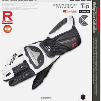 2018-GK169-Komine-Motorcycle-Leather-Gloves-Resistance-drop-In-titanium-alloy-long-walk-Race-Design