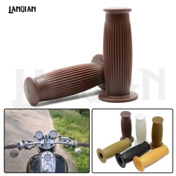 2018-Hot-1-pair-Vintage-Cafe-Racer-1-25mm-28mm-Motorcycle-Handlebar-Grip-Grips-For-SPORTSTER