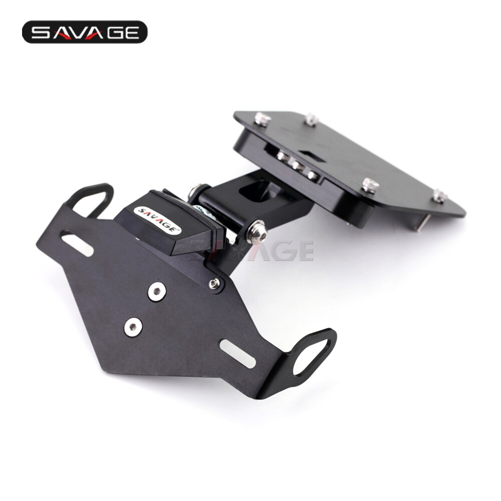 2020-License-Plate-Holder-For-YAMAHA-YZF-R25-R3-MT25-MT03-Motorcycles-Accessories-Adjustable-Folding-Tail-1