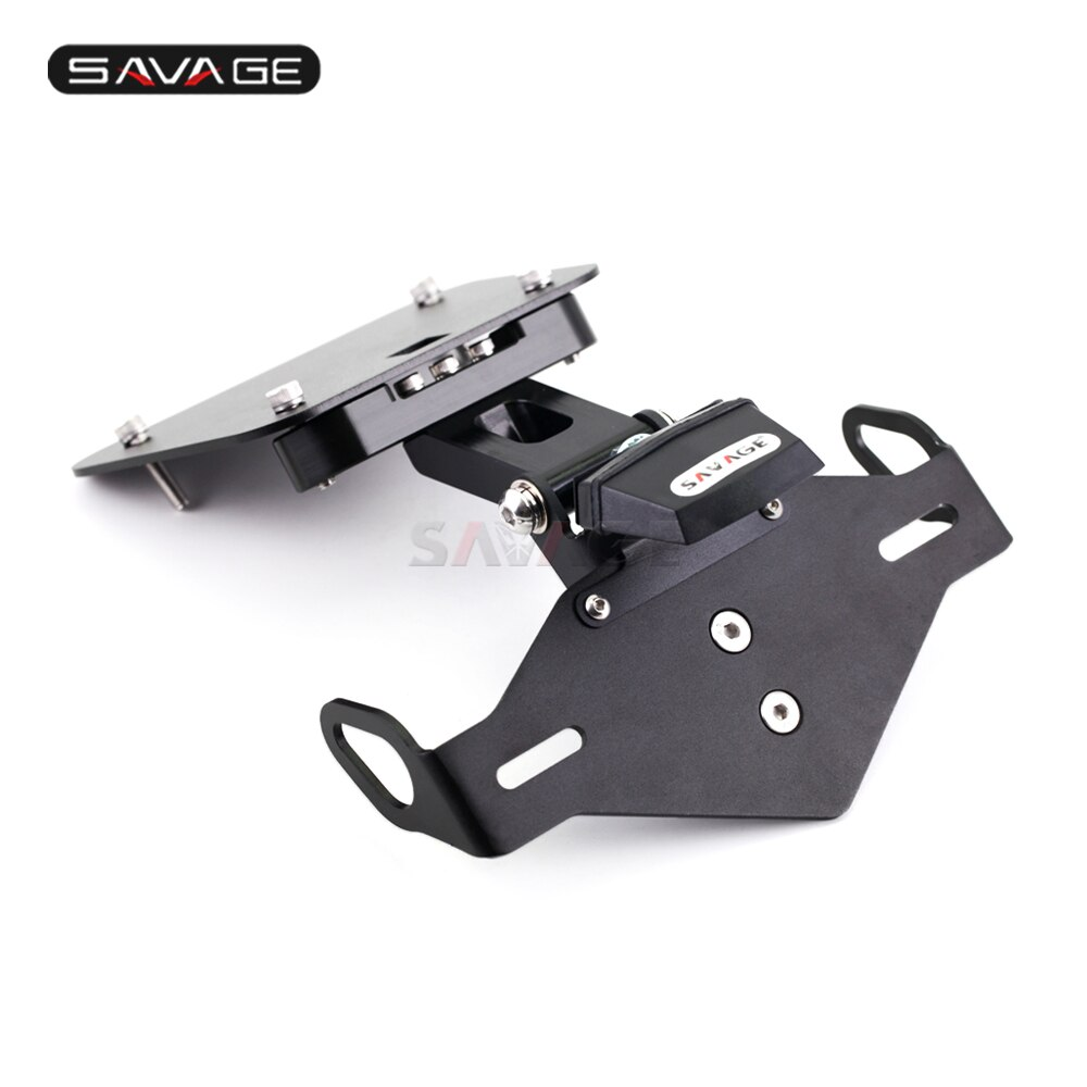 2020-License-Plate-Holder-For-YAMAHA-YZF-R25-R3-MT25-MT03-Motorcycles-Accessories-Adjustable-Folding-Tail-3