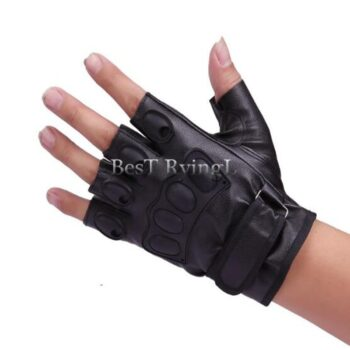 2pcs-Pair-Soft-Motor-Motorbike-Riding-Racing-Men-Women-Motorcycle-Gloves-Leather-Half-Finger-Motorcycle-Gloves