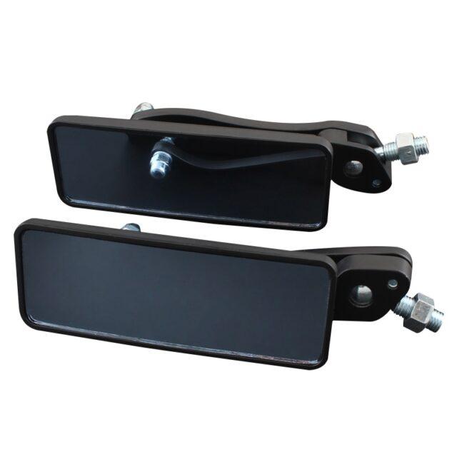 Black-Anti-Glare-Rectangle-Rearview-Handlebar-Mount-Side-Mirrors-8MM-10MM-For-Cafe-Racer-Bobber-Chopper-2