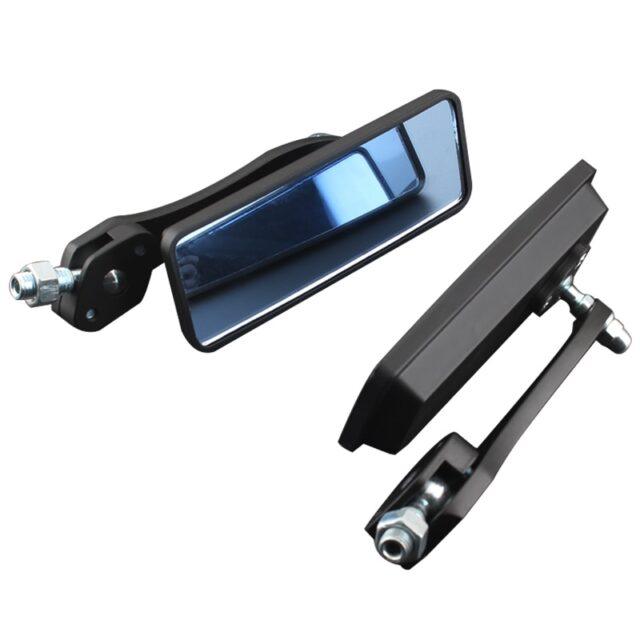 Black-Anti-Glare-Rectangle-Rearview-Handlebar-Mount-Side-Mirrors-8MM-10MM-For-Cafe-Racer-Bobber-Chopper-4