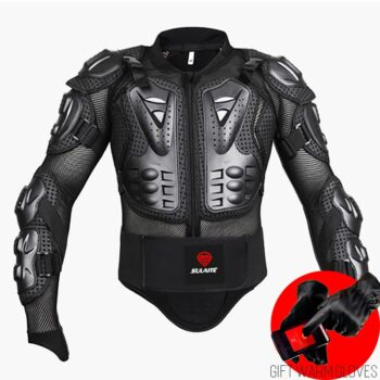 Black-RED-Motorcycles-Armor-Protection-Motocross-Clothing-Jacket-Protector-Moto-Cross-Back-Armor-Protector-Motorcycle-Jackets