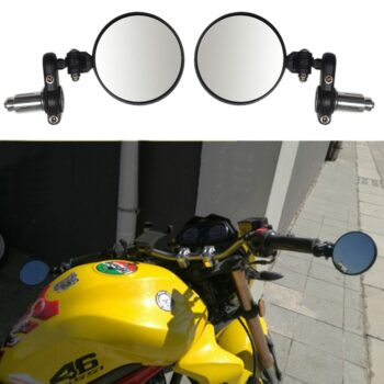 CARPRIE-Universal-Motorcycle-Moto-Black-Racer-Foldable-Rearview-Side-View-HANDLE-BAR-END-Mirror-For-Bobber