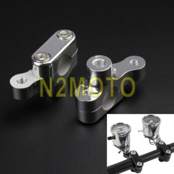 CNC-Aluminum-1-Handlebar-Riser-Offset-Meter-GPS-Phone-Mounting-Bracket-25mm-Bar-Extension-Kit-for