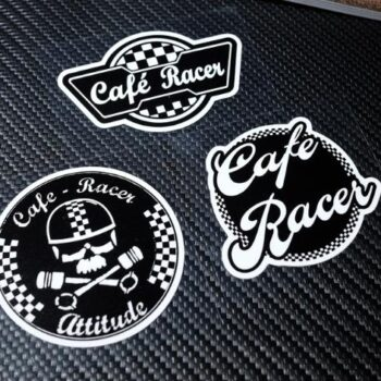 Cafe-racer-motorcyle-sticker-retro-helmet-Chequered-stickers-vinyle-motocross-decals-car-styling-biker-rocker-decals