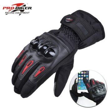 Free-Ship-Motorcycle-Gloves-Racing-Waterproof-Windproof-Winter-Warm-Leather-Cycling-Bicycle-Cold-Guantes-Luvas-Motor
