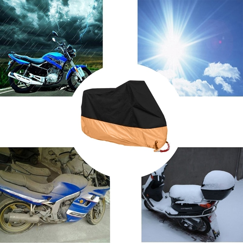 Free-delivery-Orange-L-XL-XXXL-Motorcycle-Cover-Waterproof-For-Harley-Davidson-Street-Glide-Touring-Drop-2