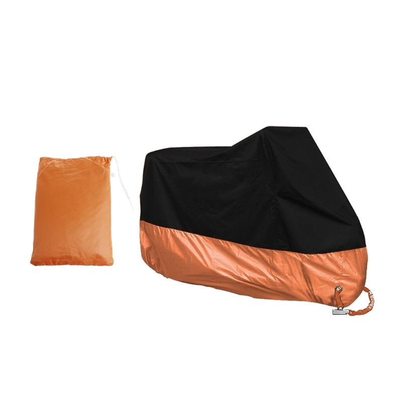 Free-delivery-Orange-L-XL-XXXL-Motorcycle-Cover-Waterproof-For-Harley-Davidson-Street-Glide-Touring-Drop-4