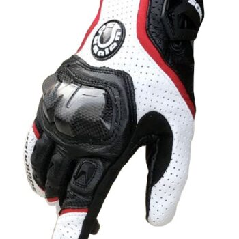 Free-shipping-UB-390-motorcycle-gloves-racing-gloves-carbon-fiber-gloves-Genuine-leather-gloves-3color