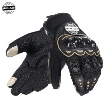 IRON-JIA-S-Motorcycle-Gloves-Men-Summer-Breathable-Full-Finger-Motocross-Guantes-Protection-Gear-Motorbike-Moto