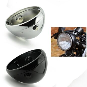 Motorcycle-7-LED-Vintage-Headlight-Mounting-Bucket-7-Inch-Running-Light-Shell-Housing-Cover-for-Cafe