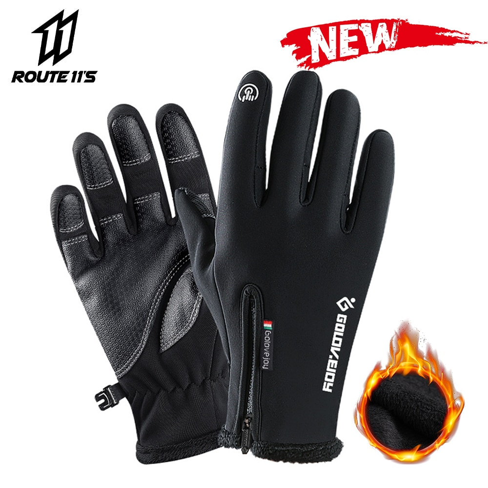 Motorcycle Waterproof Gloves Touch Screen Warm Ski Snow Winter Thermal Motorbike