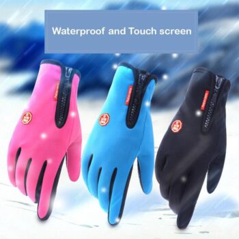 Motorcycle-Gloves-Touch-Screen-Full-Finger-Winter-Racing-Outdoor-Sports-Windstopper-Waterproof-Zipper-Skiing-Riding-Warm