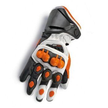 New-Orange-100-Genuine-Leather-GP-PRO-Motorcycle-Long-Gloves-Racing-Gloves-Driving-GP-PRO-Motorbike