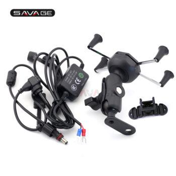 Phone-Holder-For-HONDA-MSX-125-GROM-PCX-150-VT-600C-VT-750C-Black-Motorcycle-Accessories