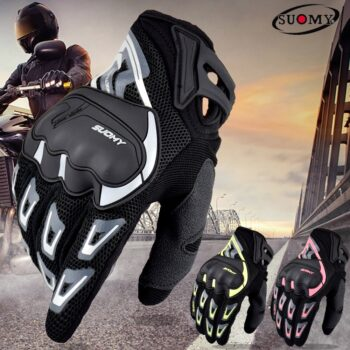 SUOMY-Summer-Breathable-Motorcycle-Gloves-Touch-Screen-Guantes-Motorbike-Protective-Gloves-Cycling-Racing-Full-Finger-Gloves
