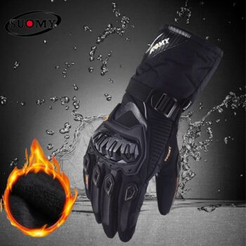 motorbike Gloves Winter Warm Waterproof Windproof Protective clothing Touch Screen M-XXL