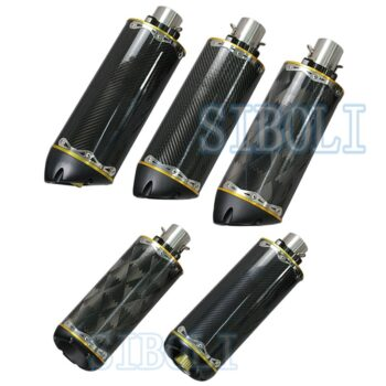 Universal-Motorcycle-Exhaust-Pipe-CNC-Aluminium-Alloy-Carbon-fiber-Escape-Moto-USA-Two-Brothers-twobrother-For