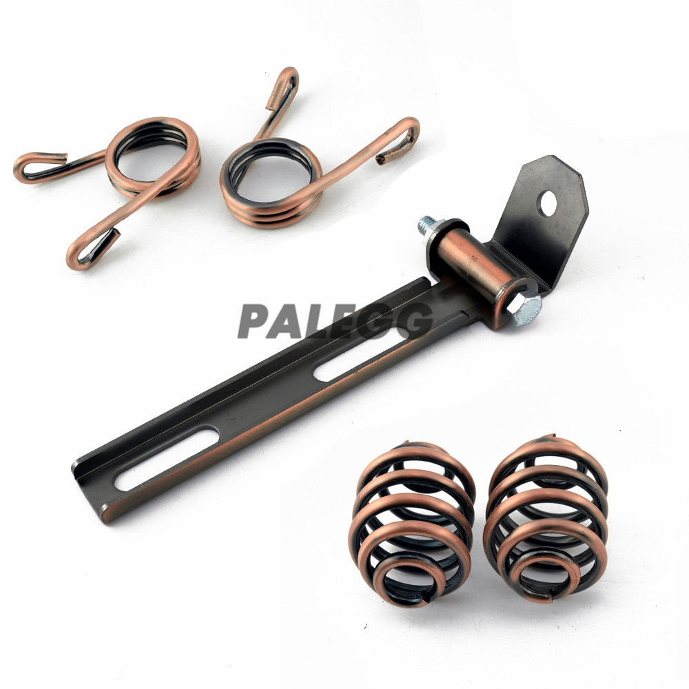Universal-retro-Motorcycle-Solo-Seat-Cushion-Springs-Mounting-Bracket-clip-kit-for-Harley-Chopper-Bobber-Cafe