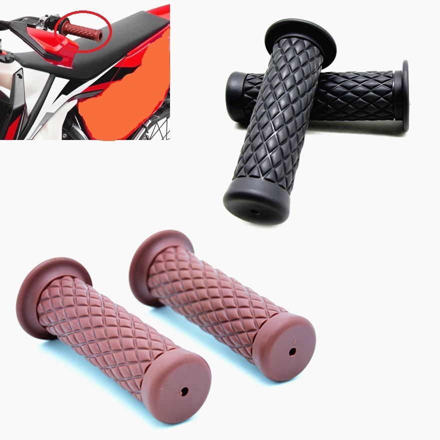 Vintage-Motorcycle-Hand-Grips-Retro-Handle-Rubber-Bar-Gel-Grip-for-Ducati-Cafe-Racer-2019-for