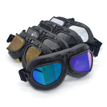 evomos-Motorcycle-Goggle-WWII-Vintage-Retro-Goggles-Pilot-Biker-Cycling-Sunglasses-ATV-Cafe-Racer-Pit-Bike