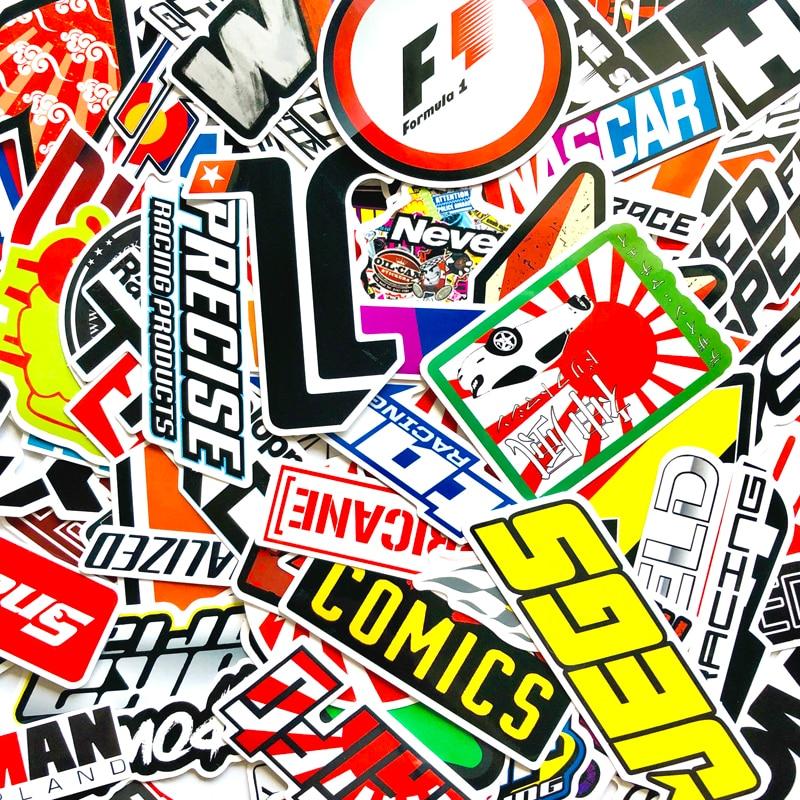 100PCS-Racing-Car-Stickers-Waterproof-Sticker-DIY-Motocross-Racing-Helmet-Skateboard-Bicycle-Laptop-PVC-JDM-Luggage-2