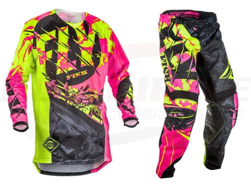2017-Fly-Fish-Pants-Jersey-Combos-Motocross-MX-Racing-Suit-Motorcycle-Moto-Dirt-Bike-MX-ATV-2