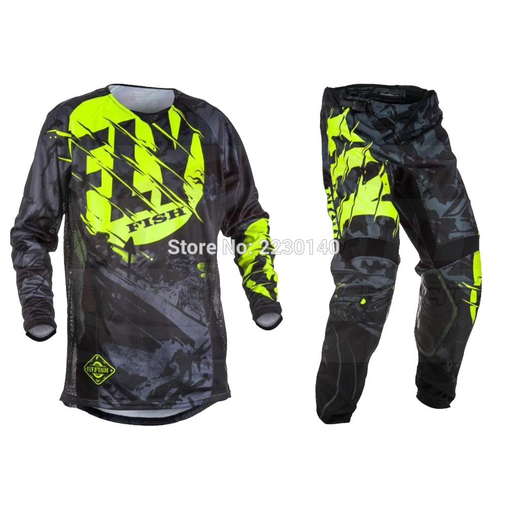 2017-Fly-Fish-Pants-Jersey-Combos-Motocross-MX-Racing-Suit-Motorcycle-Moto-Dirt-Bike-MX-ATV