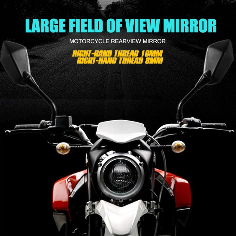 2Pcs-Universual-Motorcycle-Mirror-Scooter-E-Bike-Rearview-Mirrors-Electrombile-Back-Side-Convex-Mirror-8mm-10mm-4