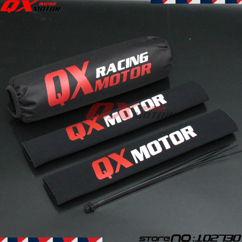 35cm-Front-Fork-Protector-Rear-Shock-Absorber-Guard-Wrap-Cover-For-CRF-YZF-KLX-Dirt-Bike-2