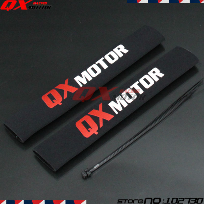 35cm-Front-Fork-Protector-Rear-Shock-Absorber-Guard-Wrap-Cover-For-CRF-YZF-KLX-Dirt-Bike-3