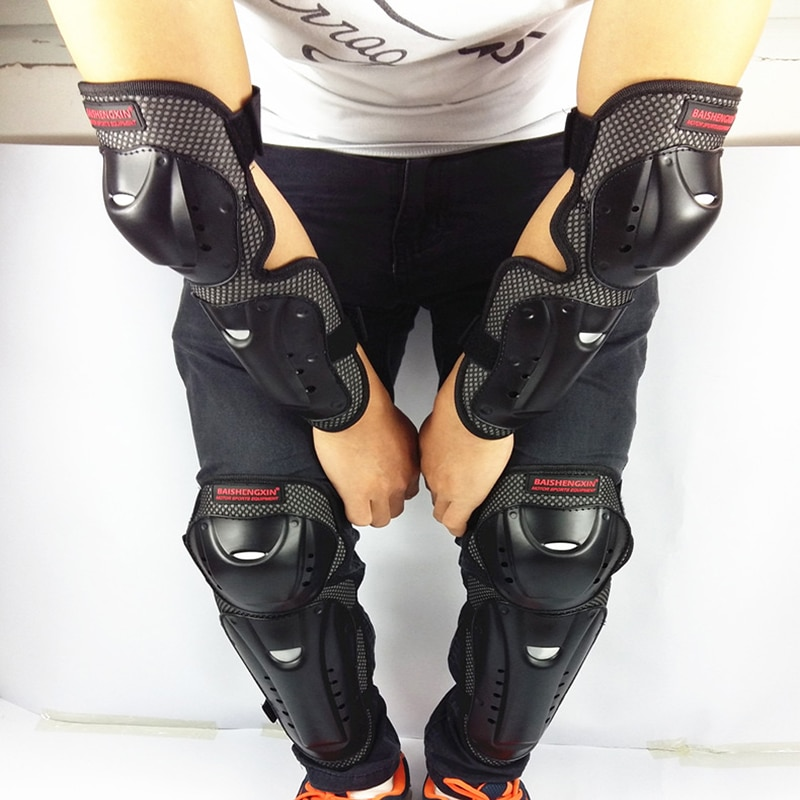 4pc-s-Motorcycle-knee-elbow-protective-pads-Motocross-skating-knee-protectors-riding-protective-Gears-pads-protection-2