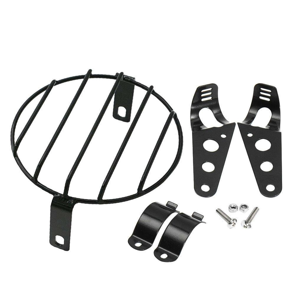 6-5-Inch-Retro-Motorcycle-Headlight-Grill-Side-Mount-Cover-with-Bracket-Motorcycle-Side-Mount-Headlight-2