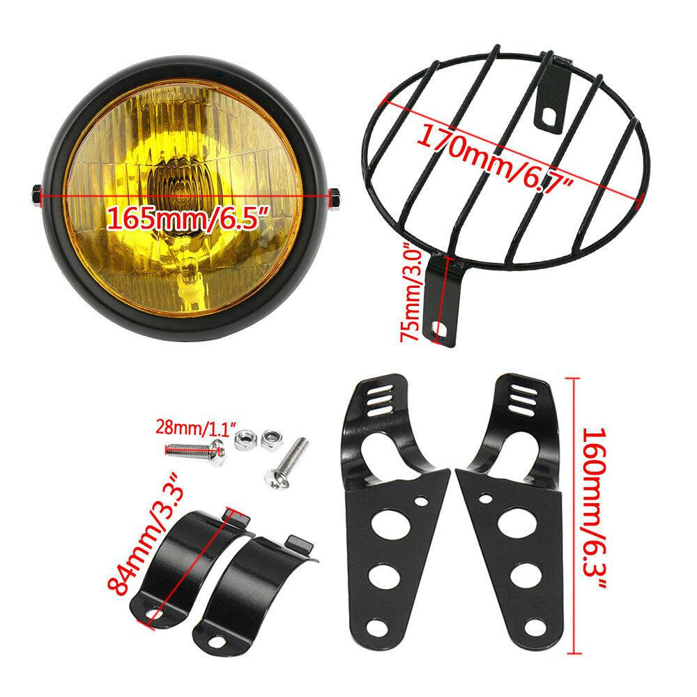 6-5-Inch-Retro-Motorcycle-Headlight-Grill-Side-Mount-Cover-with-Bracket-Motorcycle-Side-Mount-Headlight-4