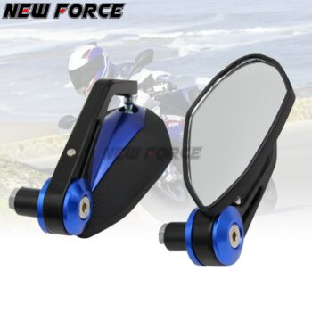 7-8-22MM-Full-CNC-Motorcycle-Handlebar-Bar-End-Rearview-Rear-View-Side-Mirrors-Convex-Glass-6