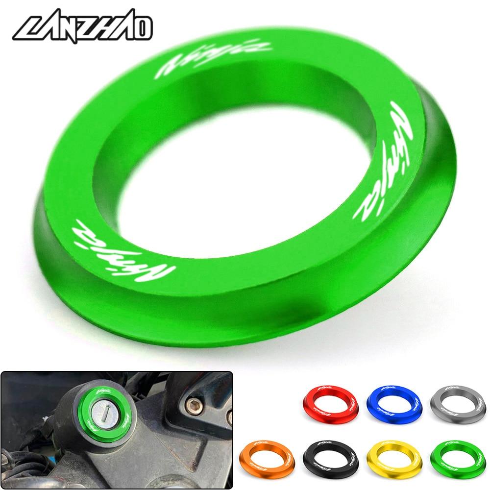 NINJA-Motorcycle-Ignition-Switch-Cover-Ring-CNC-Accessories-for-Kawasaki-Ninja-250-300-400-2013-2014-6