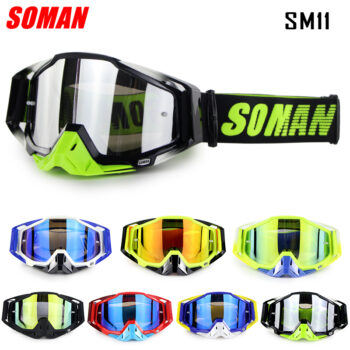 SOMAN-Motocross-Glasses-Downhill-Goggles-MX-Gafas-Cross-Country-Motorcycle-Goggle-Dirt-Bike-Glasses-SM11