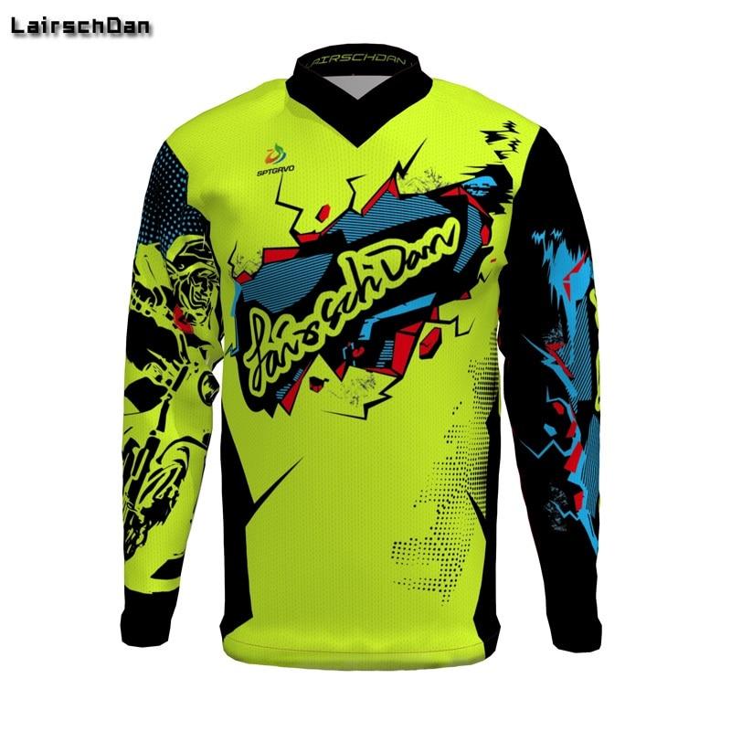 SPTGRVO-2019-Lairschdan-Pink-Men-Women-Motocross-Moto-Bycicle-BMX-Jersey-Mtb-Downhill-Tshirt-Larga-Enduro-1