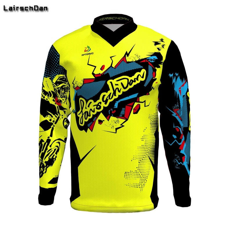 SPTGRVO-2019-Lairschdan-Pink-Men-Women-Motocross-Moto-Bycicle-BMX-Jersey-Mtb-Downhill-Tshirt-Larga-Enduro-2