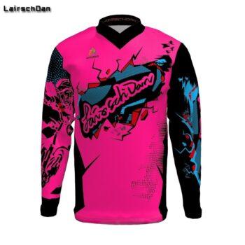 SPTGRVO-2019-Lairschdan-Pink-Men-Women-Motocross-Moto-Bycicle-BMX-Jersey-Mtb-Downhill-Tshirt-Larga-Enduro