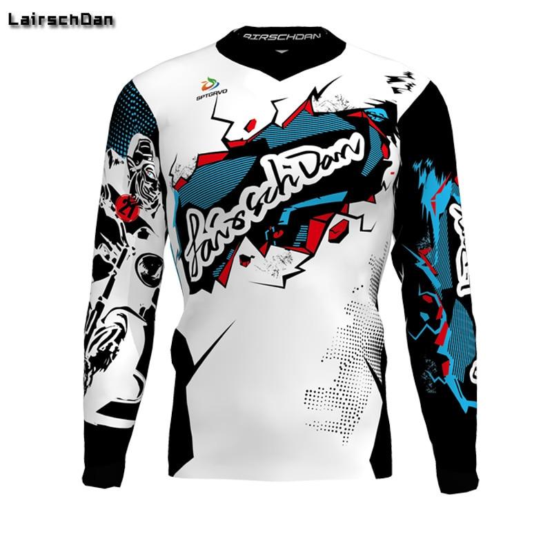 SPTGRVO-2019-Lairschdan-Pink-Men-Women-Motocross-Moto-Bycicle-BMX-Jersey-Mtb-Downhill-Tshirt-Larga-Enduro-4