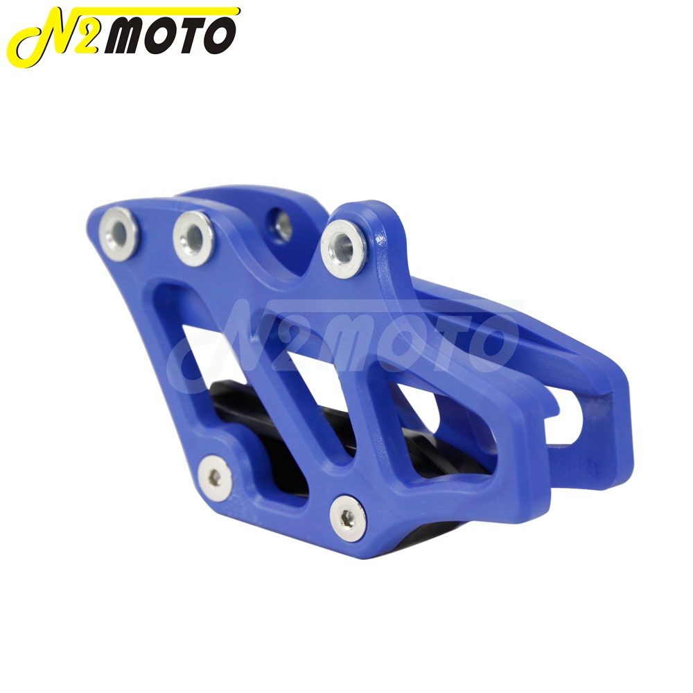 1-X-Blue-Plastic-Chain-Guide-Guard-Protector-for-Yamaha-YZ-WR-125-250-250F-450F-2