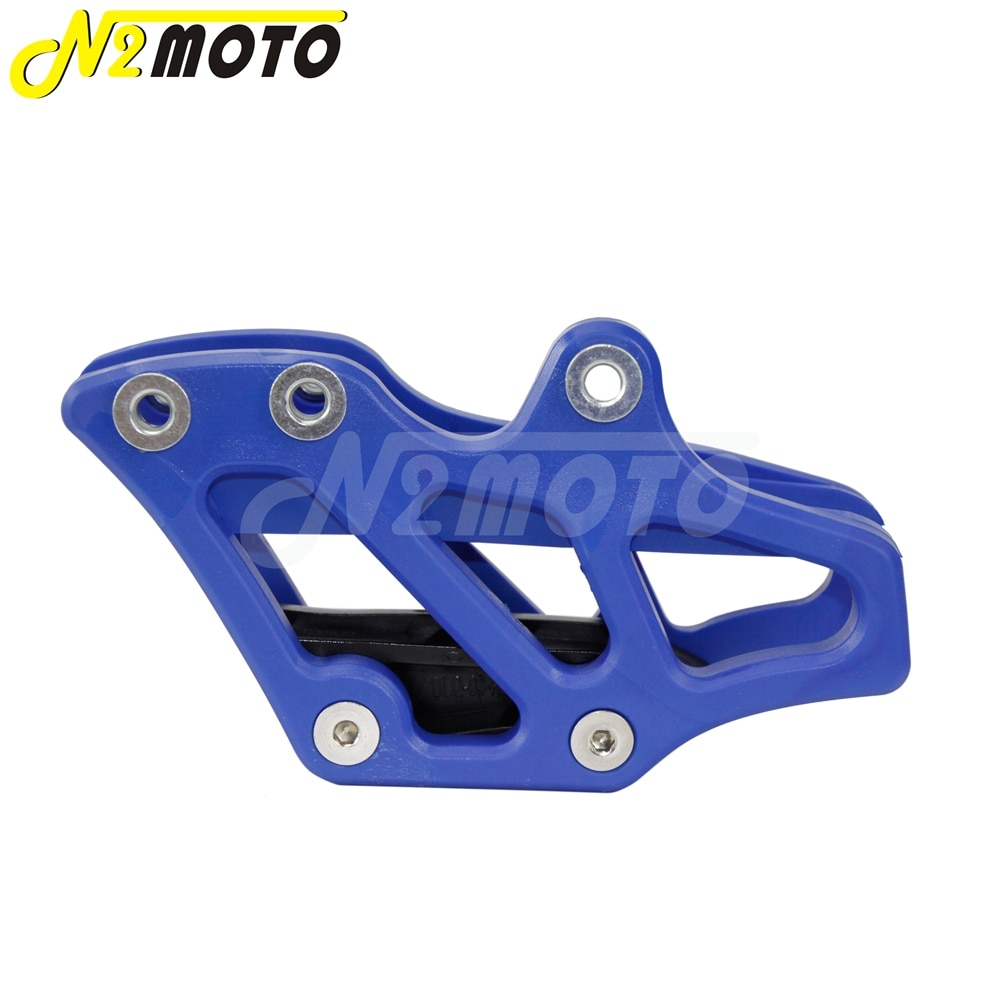 1-X-Blue-Plastic-Chain-Guide-Guard-Protector-for-Yamaha-YZ-WR-125-250-250F-450F-3