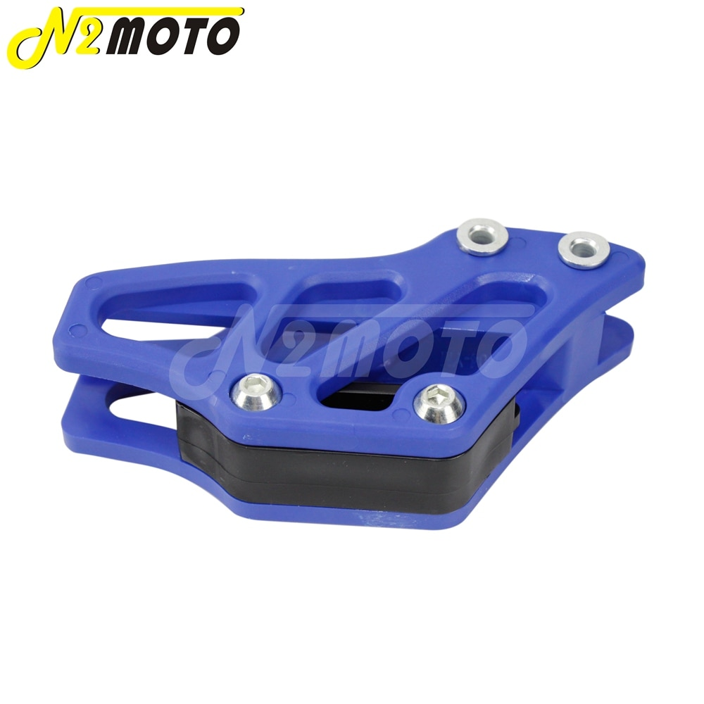 1-X-Blue-Plastic-Chain-Guide-Guard-Protector-for-Yamaha-YZ-WR-125-250-250F-450F-5