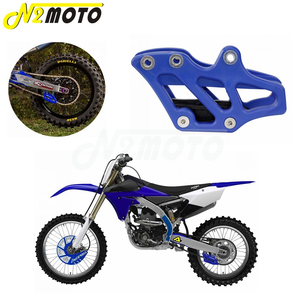 1-X-Blue-Plastic-Chain-Guide-Guard-Protector-for-Yamaha-YZ-WR-125-250-250F-450F