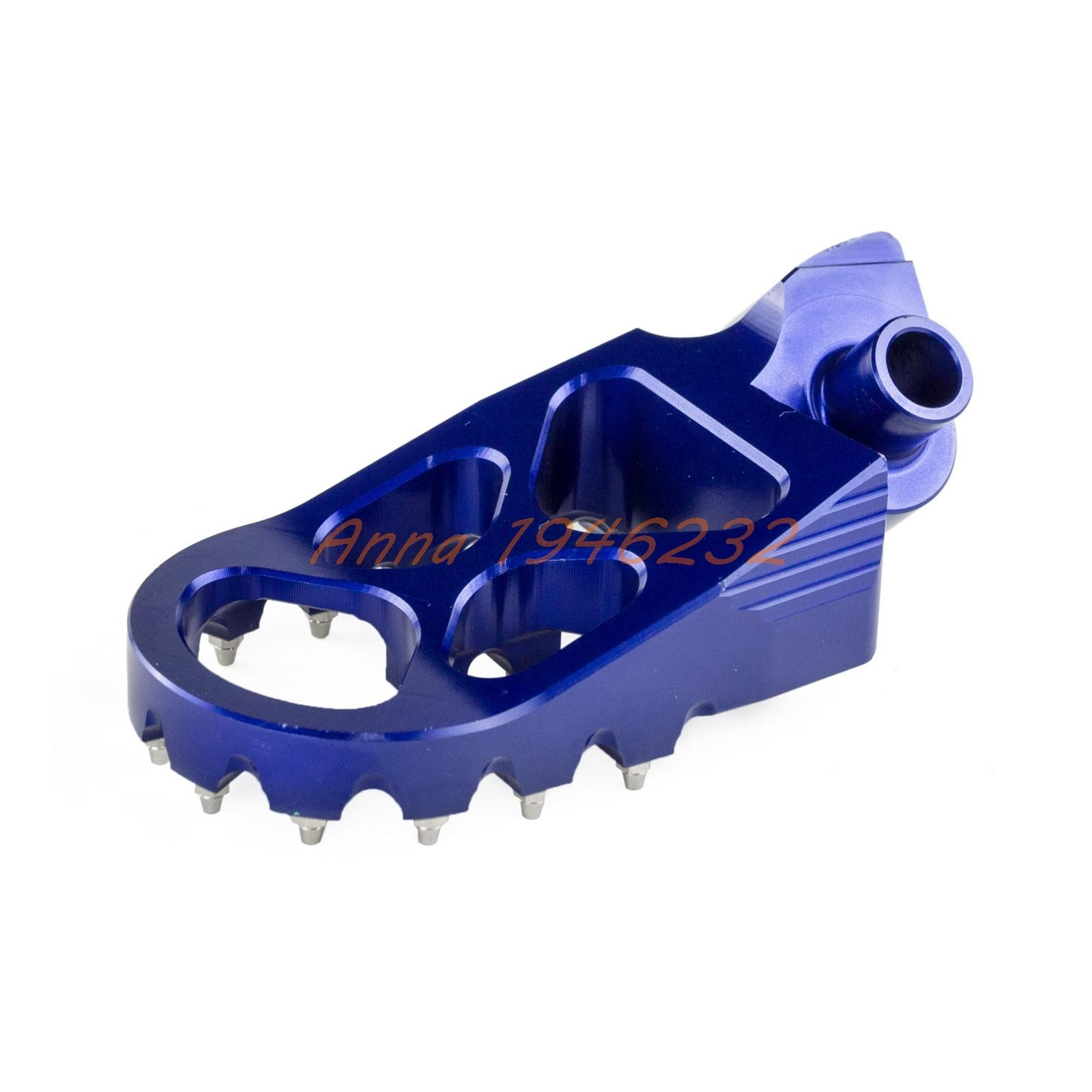 57mm-7075-Blue-Wide-Footrests-Foot-Pegs-For-Yamaha-YZ85-YZ125-YZ250-YZ125X-YZ250X-YZ250F-YZ450F-3